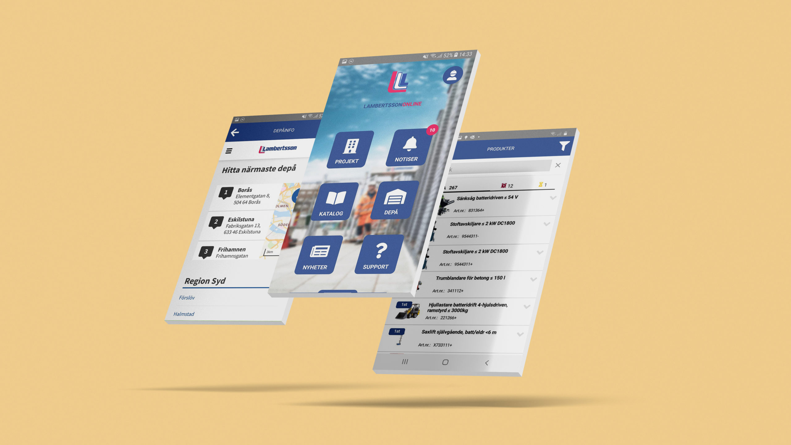 lambertsson app